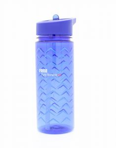 Drikkeflaske 500 ml Blå FREE Pure Norway Wave PS