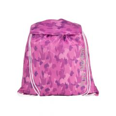Gymbag m.klaff CAMO Rosa FREE Pure Norway