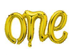 Ballong ONE Gold Folie 66X37cm