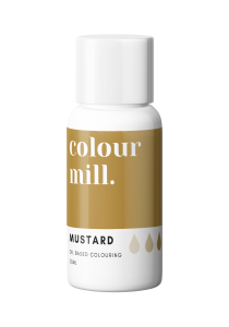 Oil Based Colouring 20ml Mustard