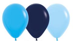 Ballonger Blå Ass Fashion 30cm, 100 PK