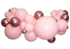 Ballongoppsats Rosa med Rosé